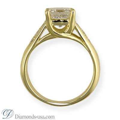 Semi set engagement ring, CrissCross