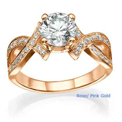 The Bow Tie engagement ring