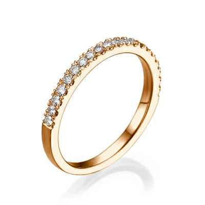 Matching wedding ring ,0.25 carats total weight
