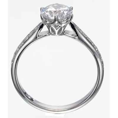 Designers prongs head engagement ring