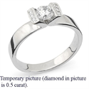 Picture of Tension engagement ring settings