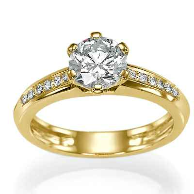 The new classic style with side diamonds