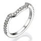 Picture of Matching wedding ring with side diamonds
