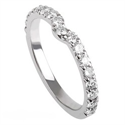 Foto Notch diamonds wedding ring de