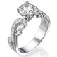Foto Vintage style engagement ring de