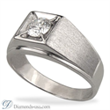 Picture of Men diamond ring for Rounds and Princess