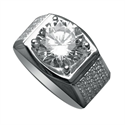 Picture of Man diamond ring