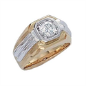 Picture of Heavy Men diamond ring