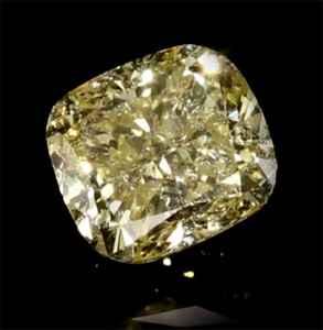 Foto 370408 diamantes con claridad realzada Corte Cojín 1.19Q Fancy Yellow SI2 Very Good  de