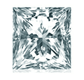Picture of princess cut diamond
