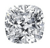 Picture of cushion cut diamond