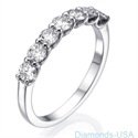 Picture of 0.88 Carat 7 floating diamonds band