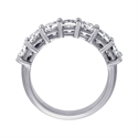 Picture of 3.10 carat seven Cushions diamond ring