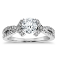 Picture of The Bow Tie engagement ring