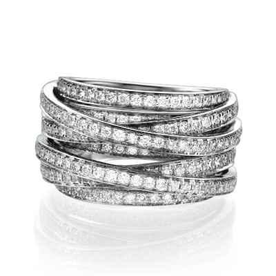 1.50 carat anniversary or cocktail diamond ring
