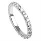 Foto Anillo de boda con diamantes redondos de 1 quilates. de