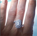 Picture of Celebs engagement ring