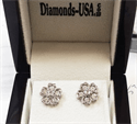 Picture of Hearts diamond earrings, 1.01 carats