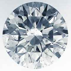 Picture of 0.81 Carats, Round Diamond with Ideal Cut, G Color, VS2 Clarity and Certified by EGL