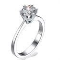 Picture of New  Martini prongs head diamond engagement ring