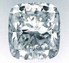 Picture of 1.01 Carats, Cushion Diamond with Ideal Cut, D Color, VS1 Clarity and Certified By CGL