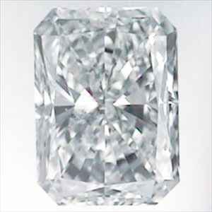 Picture of 0.82 Carats, Radiant Diamond with Very Good Cut, E Color, VS2 Clarity and Certified By IGL
