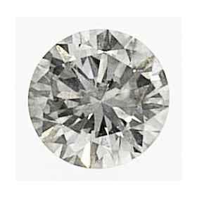 Foto 1.04 quilates, diamante redondo con corte ideal, color K, claridad SI1, certificado por IGL de