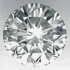 Picture of 0.7 Carats, Round Diamond with Very Good Cut, F Color, SI2 Clarity and Certified By EGS/EGL