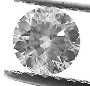Picture of 0.30 Carats, Round Diamond with Ideal Cut, G SI1 Certified by EGS/EGL