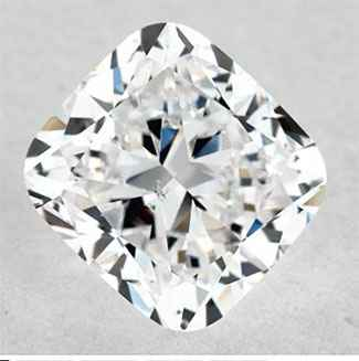 Picture of 0.8 Carats, Cushion Diamond with Very Good Cut, F Color, VS2 Clarity and Certified By IGL