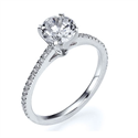 Picture of The Delicate engagement  ring settings,