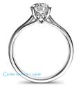 Foto Compinche delicado anillo de compromiso de