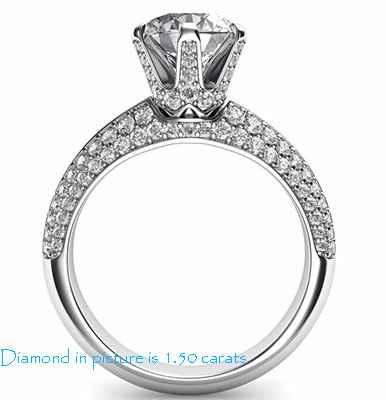120 incrustaciones de diamantes incrustados para piedras más grandes