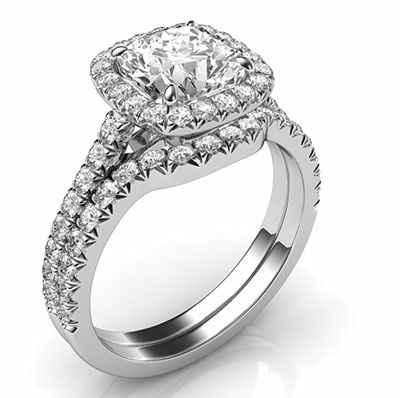 Bridal Set Builder By Diamonds Usa