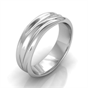 Picture of 6 mm man comfort wedding band, California dreaming