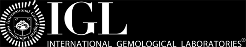 Logotipo del laboratorio de diamantes IGL