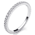 Foto Eternity diamonds wedding or anniversary band de