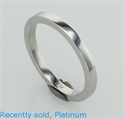 Picture of 2 mm Solid Flat Wedding Band