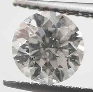 Foto Diamante redondo de 1 quilate G SI3 ojo limpio, Ideal-Cut. de
