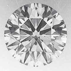 Picture of 1.01 Round natural diamond E VVS1 C.E,Ideal-Cut