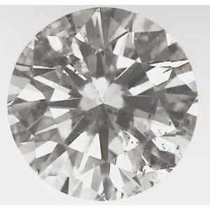 Picture of 0.50 Carats, Round Diamond with Ideal Cut ,H, color, SI1 Clarity  Enhanced and Certified by IGL
