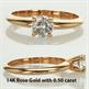 Foto Classic solitaire engagement ring settings de