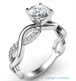 Picture of Infinity engagement ring for all shapes and sizes