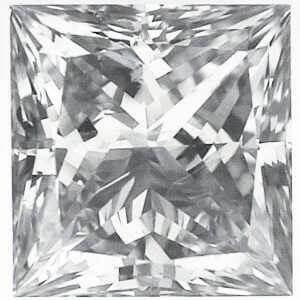 Foto Diamante natural de la princesa 3.02, H VS1, corte ideal de
