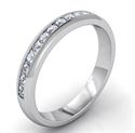 Foto Banda de diamante, 3 mm, a la mitad de