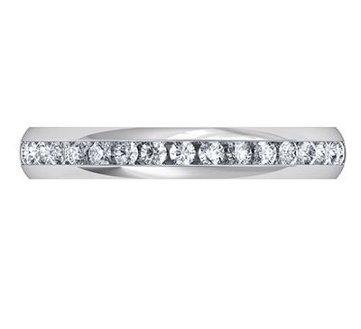Banda de diamante, 3 mm, a mitad de camino