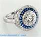 Picture of Victorian Replica Vintage Engagement ring