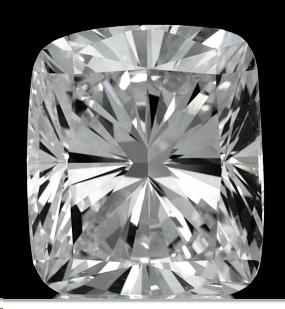 Foto 4,01 quilates, Diamante de cojín con corte muy bueno, certificado H SI1 por GIA de