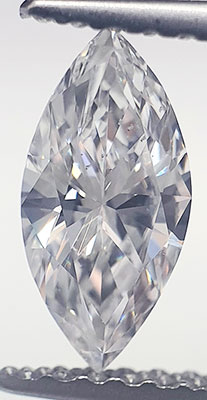 Picture of 0.56 Carats, Marquise Diamond with Very Good Cut, D Color, VS2 Clarity and Certified By EGL