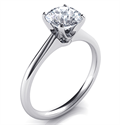 Picture of Delicate Novo solitaire engagement ring, Alice